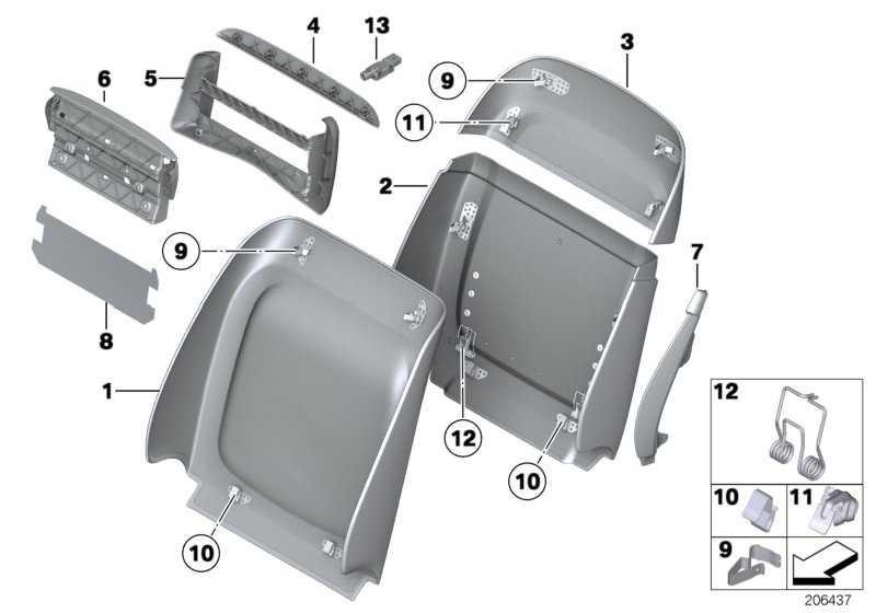 Reparatursatz Klammern  5er 7er  (52107240386)