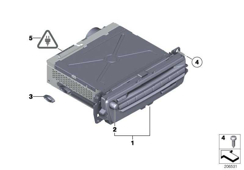 Austausch Car Infotainment Computer Mid  X5 X6  (65129221826)