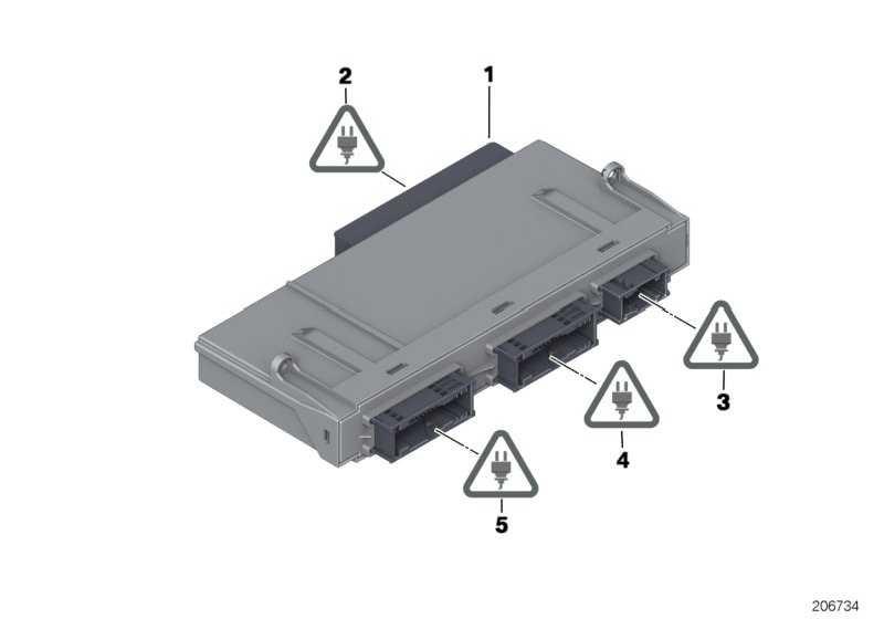 Junctionbox Elektronik 3  5er 6er 7er  (61359286939)
