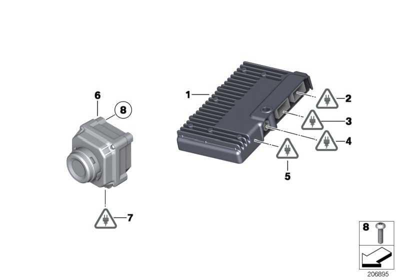 Linsenschraube selbstschneidend  5er 6er 7er X5 X6  (07149241365)