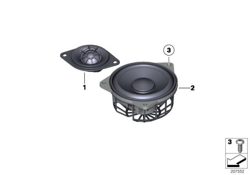 Hochtonlautsprecher Top-Hifi-System  5er 6er  (65139184795)
