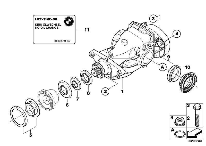 Austausch Hinterachsgetriebe I=4.44          X5  (33107602982)