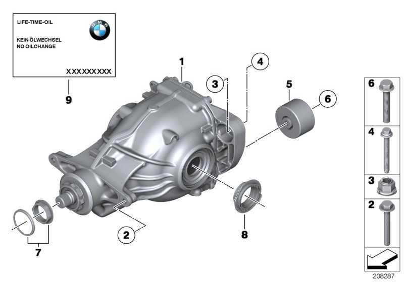 Austausch Hinterachsgetriebe I=2,56          5er  (33107578152)