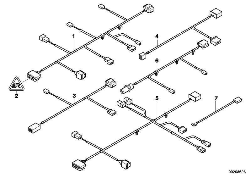 Kabelsatz Sitz Fahrerseite  1er 3er  (61126943539)