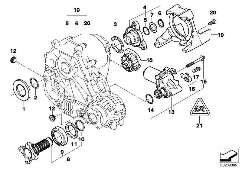 Satz Stellmotor  3er 5er  (27107546671)