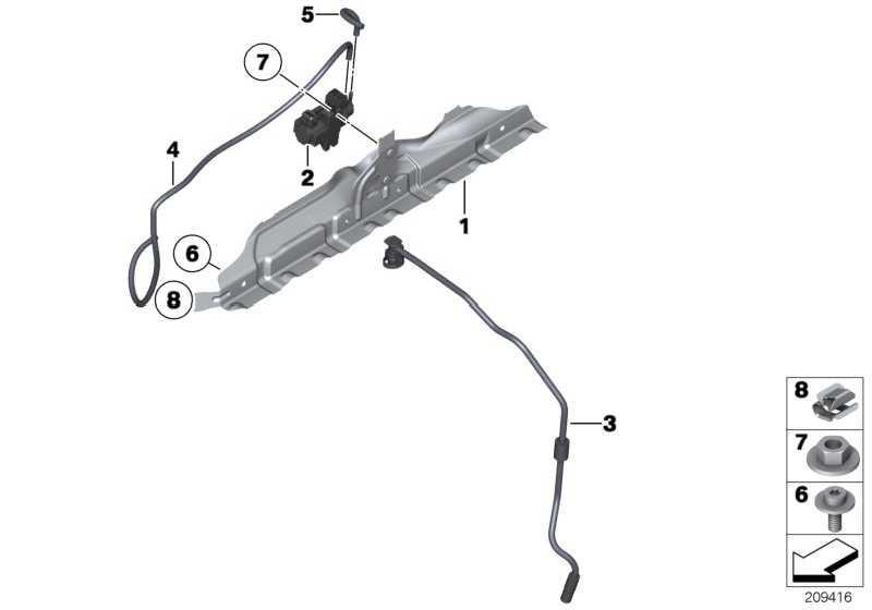 ISA-Schraube M6X16-U2-8.8-ZN 5er 1er 3er X6 X5 X3 6er 7er X4 4er i8 i3  (07129906916)