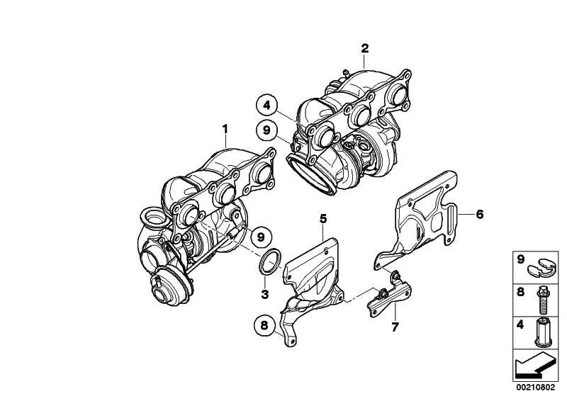 Turbolader  3er  (11657593016)