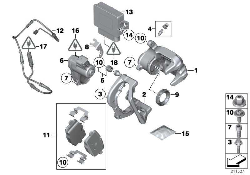 Reparatursatz Bremsbeläge asbestfrei  5er 6er  (34216775346)