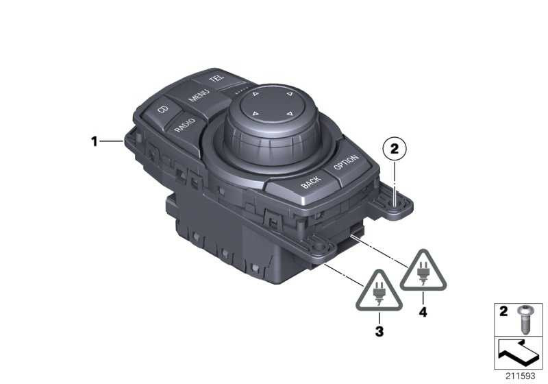 Controller  1er 3er X3  (65829267956)
