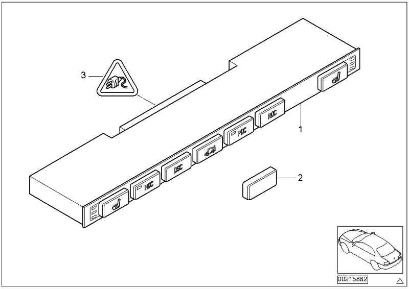 Steckergehäuse 23 POL.         X5  (61138380728)