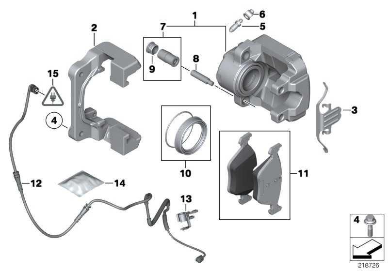 Reparatursatz Bremsbeläge asbestfrei  5er  (34116858047)