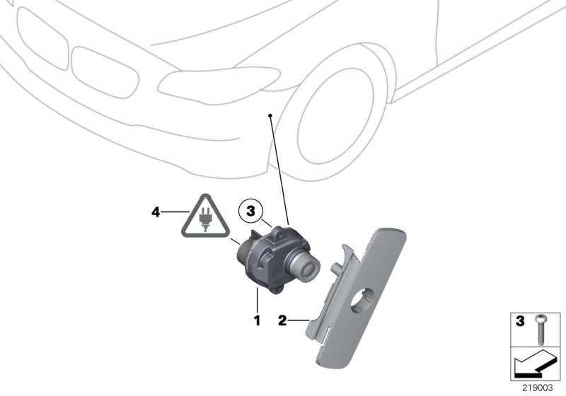 Kabelsatz Side View Camera  5er 6er 7er  (61119182329)