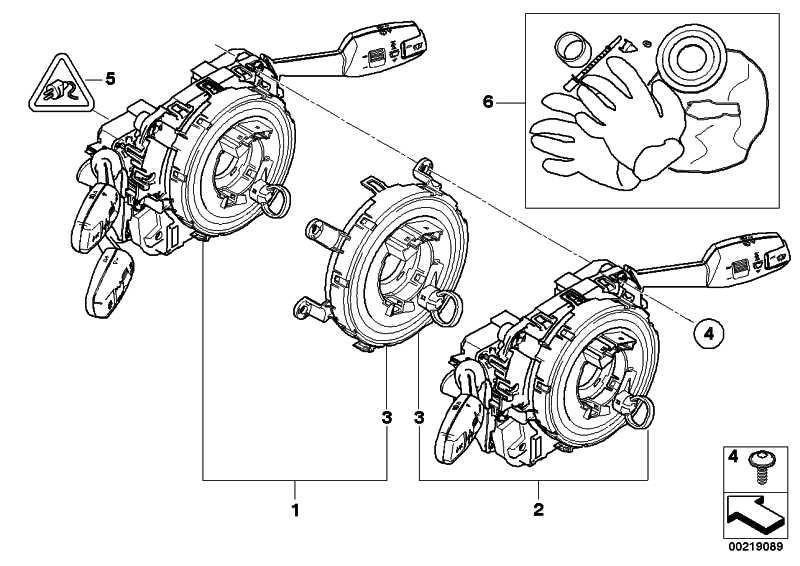 Reparatursatz SZL             1er 3er X1 Z4  (83192179894)