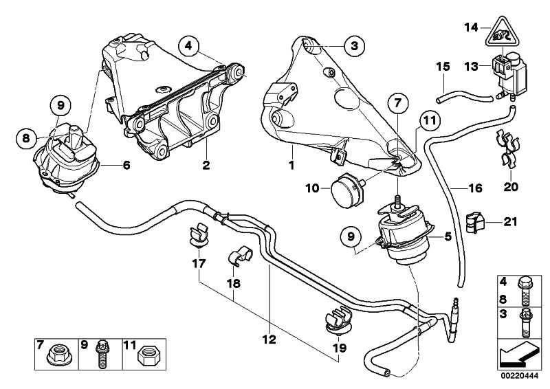 Motorlager  X5 X6  (22116793018)