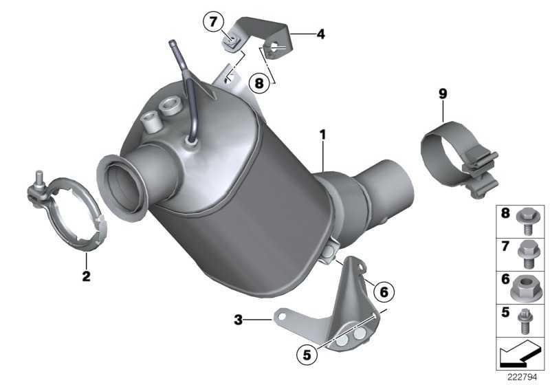 Austausch Dieselpartikelfilter  5er X3  (18307823496)