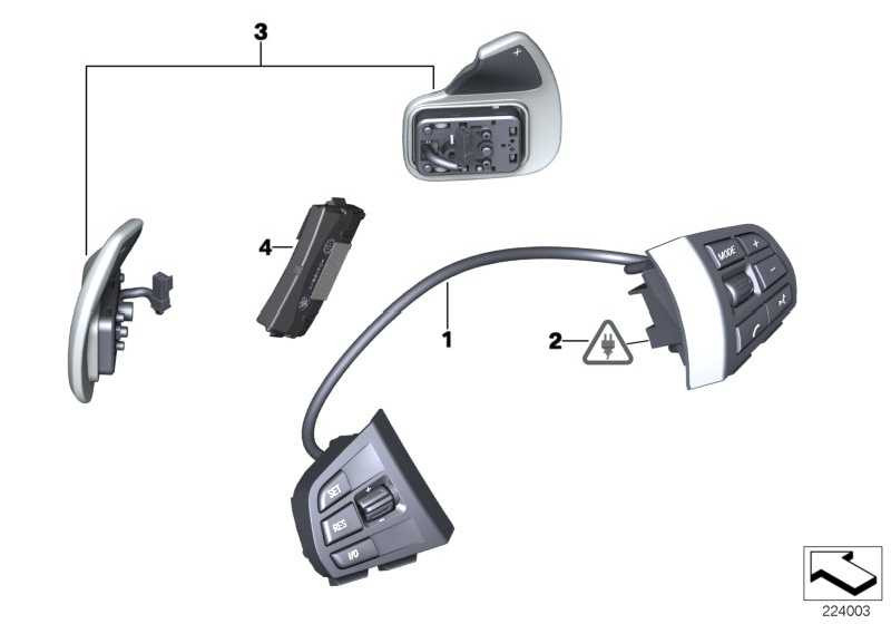 Steuergerät Lenkradelektronik  1er 3er 5er 6er 7er X3  (61319218379)