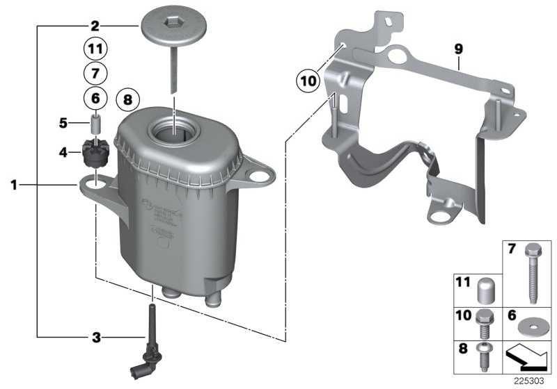 Ölbehälter  5er 6er 7er  (32416782942)