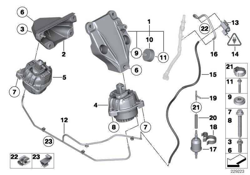 Motorlager  5er 6er 7er  (22116777371)