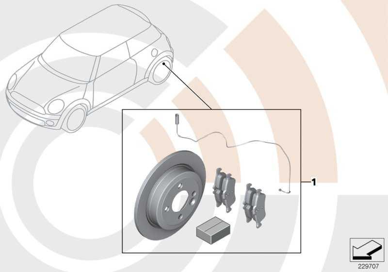 Satz Bremsscheiben mit Satz Bremsbelag VALUE LINE      MINI  (34212179170)