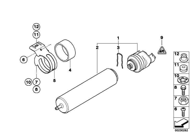 Kraftstofffilter mit Heizung  3er  (13327802241)