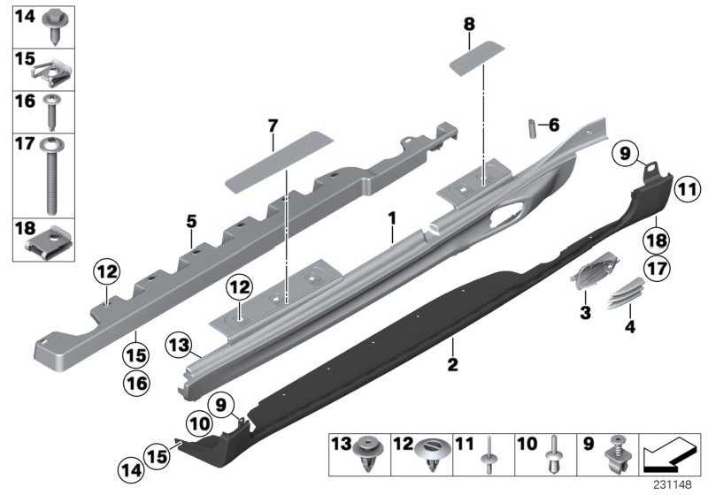 Blende Einstieg vorn links MINI COOPER S   MINI  (51779800667)