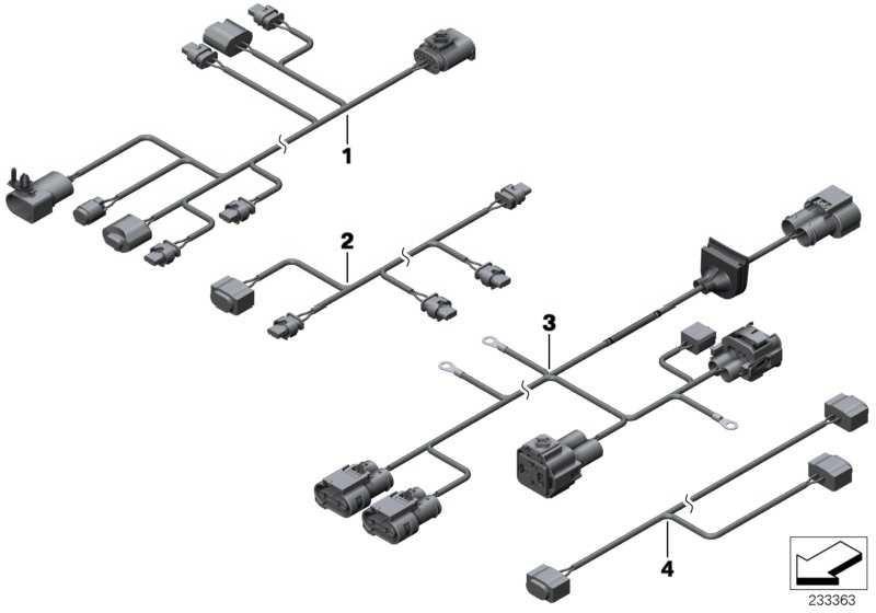 Kabelsatz EPS Steuerung  X3  (61129243625)