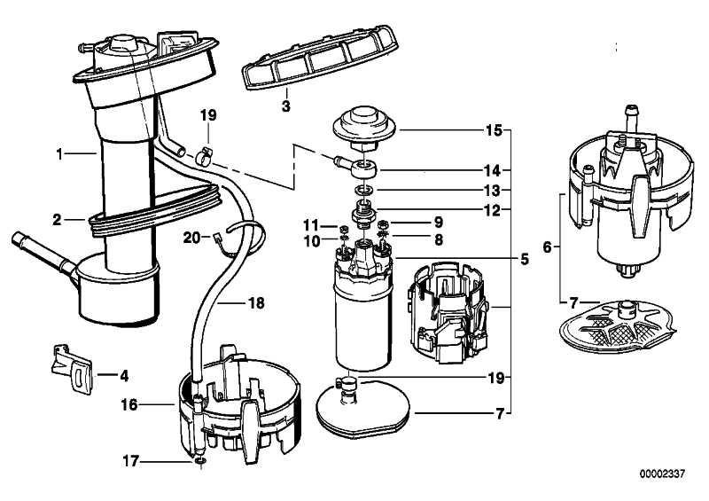 Kraftstoffpumpe  5er 7er  (16141181354)