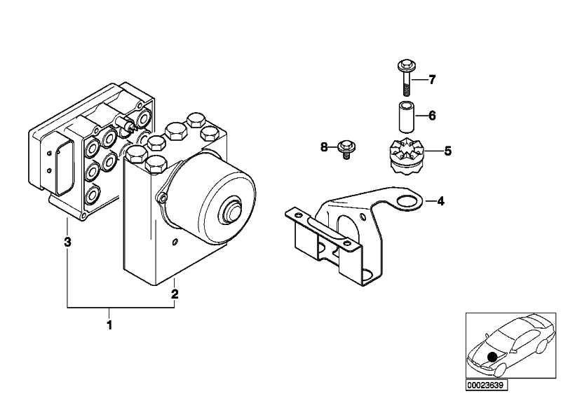 Reparatursatz Steuergerät ASC  3er Z3  (34516756289)