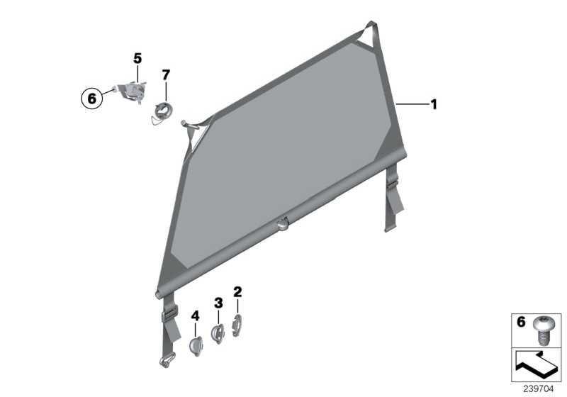 Gepäckraumtrennnetz  MINI  (51479801244)