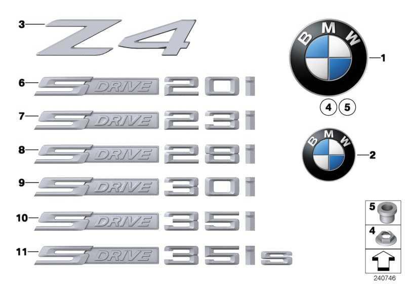 Schriftzug S DRIVE 35IS    Z4  (51147269063)