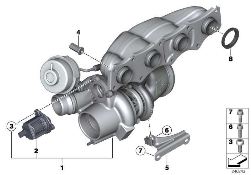 Austausch Turbolader  1er 2er 3er 4er 5er X1 X3 X4 Z4  (11657642469)