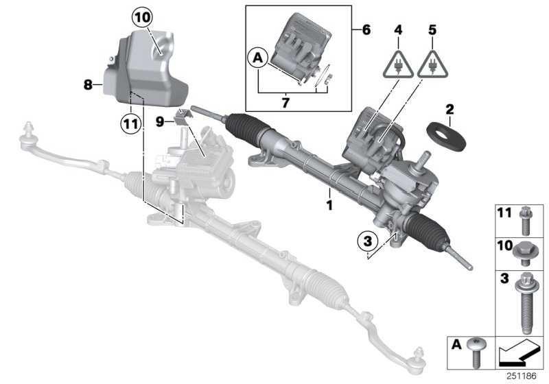 ASA-Schraube gewindefurchend M6X16 1er 2er 3er 4er MINI  (34509804151)