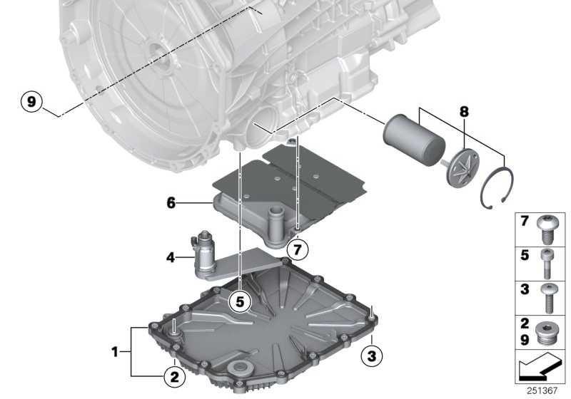 Reparatursatz Druckfilter  1er 3er 4er 5er 6er Z4  (28107842840)