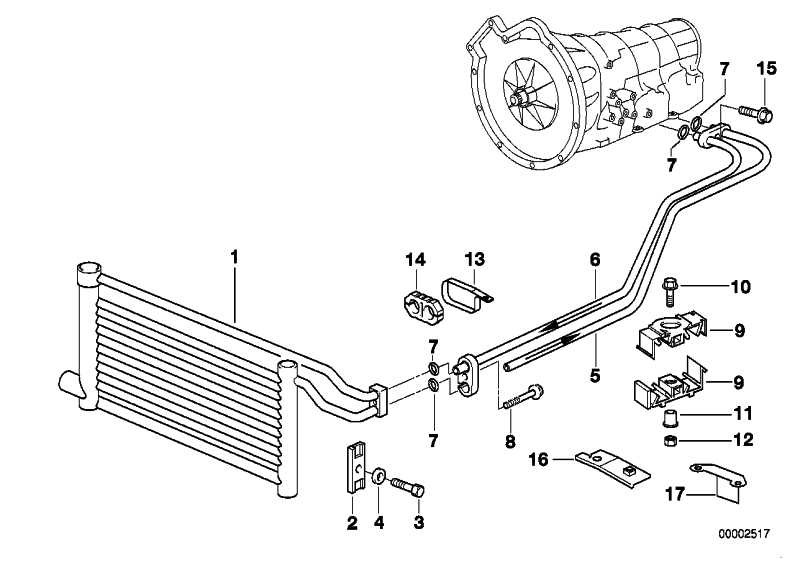 Ölkühler-Steckanschluss                 5er  (17221740798)