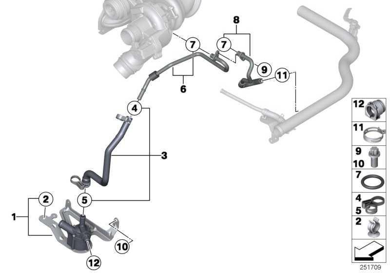 ASA-Schraube M6X16 ZNNIV SI  1er 3er 4er 5er 6er 7er X3 X5 X6  (07129905905)