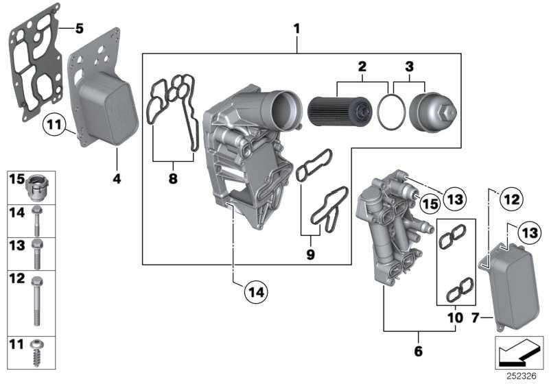 Thermostatgehäuse mit Thermostat  1er 3er 5er 6er 7er X1 X3 X5 X6  (11428507694)