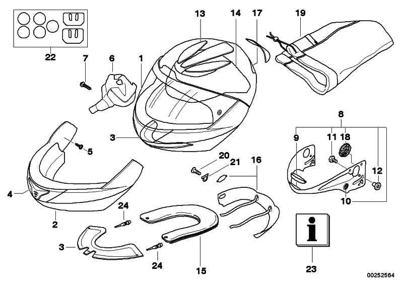 Kopfpad Helm 5 56-59  6.0+6.0  (72607693564)