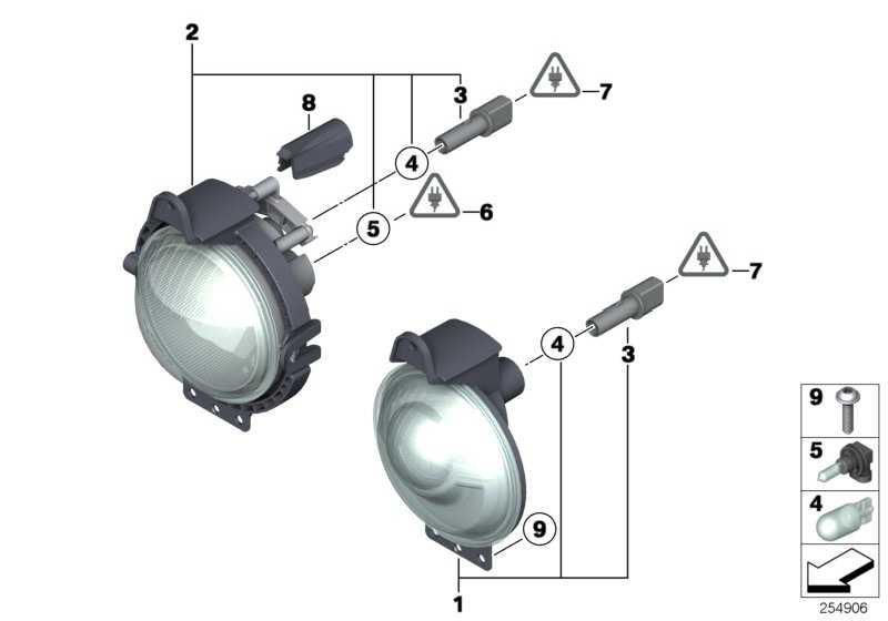 Nebelscheinwerfer mit Positionsleuchte  MINI  (63172751295)