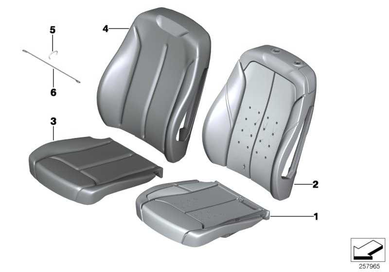 Bezug Basis Sitz Stoff/Leder PETROL/SCHWARZ 1er  (52107295097)
