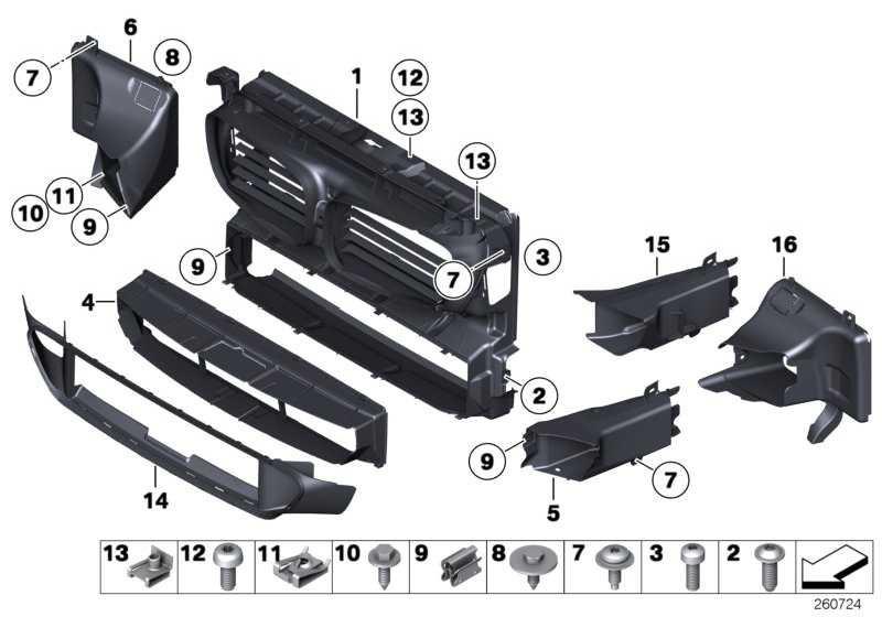 Clipmutter M6-ZNS3 1er 2er 5er 6er 7er X5 MINI  (07147286036)