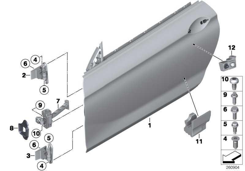 Crashpad Tür vorn rechts  6er  (51717300984)