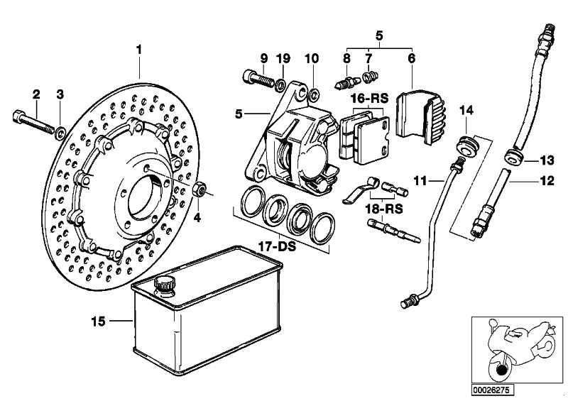 Reparatursatz Bremsbeläge   (34112301360)