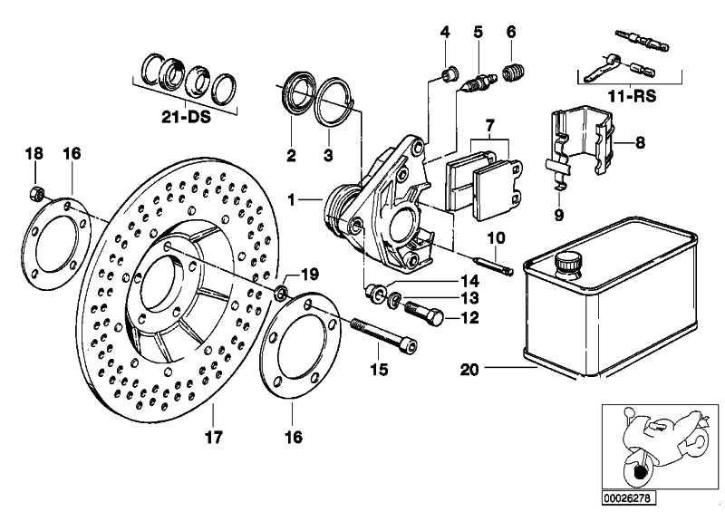 Reparatursatz Bremsbeläge ATE              (34112301359)