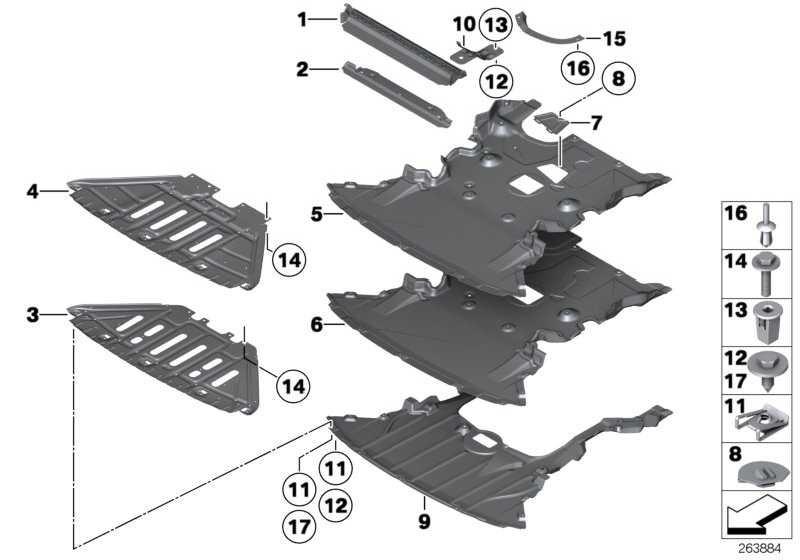 Motorraumabschirmung  X1  (51752990575)