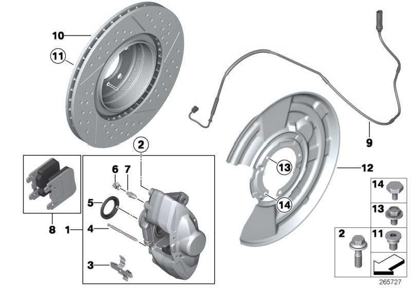 Reparatursatz Bremsbeläge asbestfrei  1er 3er  (34216855474)