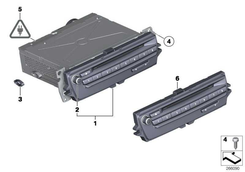 Austausch Car Infotainment Computer Mid MIC/VID         1er 3er X1  (65129231160)
