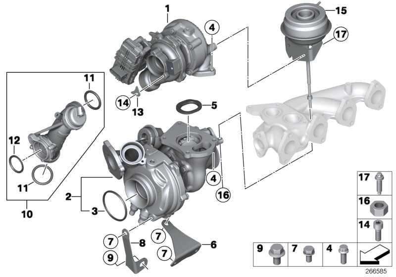 Austausch Turbolader  1er 3er 5er X1  (11657823256)