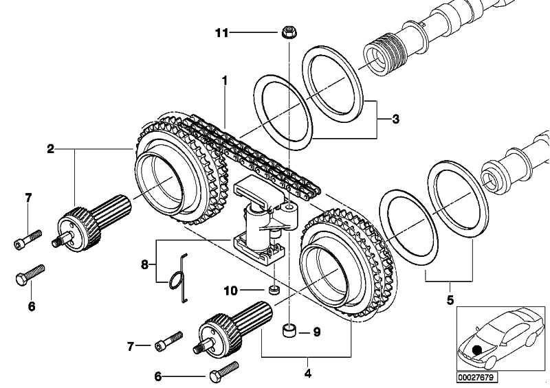 Vanos-Getriebe Auslass  5er Z8  (11367830683)