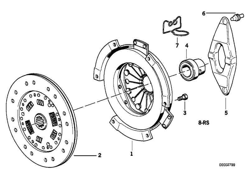 Zylinderschraube M8X16-ZNS3 MK 3er 5er 6er 7er X3 X5 Z3 Z4 Z8  (07119906045)