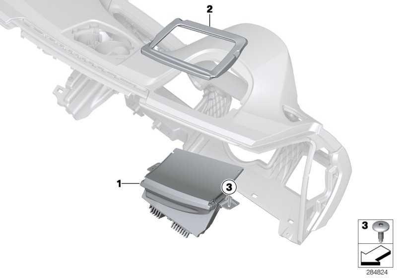 Head-Up Display LHD             4er  (62309312774)